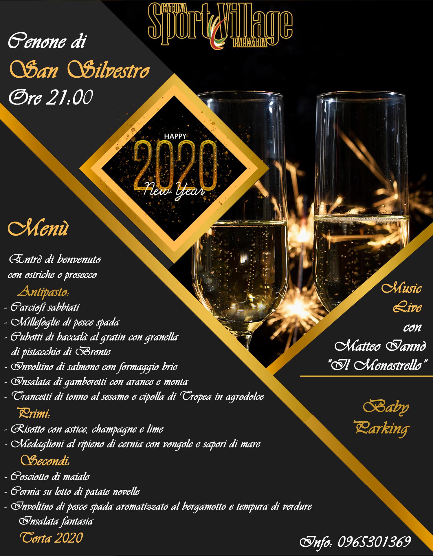 Cenone 2020 Reggio Calabria Sport Village